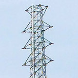 鉄塔・送電線 国分寺線 建て替え工事の様子など。