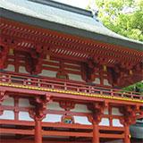 大宮 氷川神社と緑道散歩。