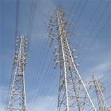 上部送電線に注意!! 橋本変電所。