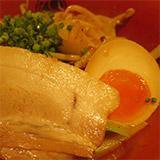 新横浜ラーメン博物館・『無垢-muku-ツヴァイテ』焦げ味噌ラーメン。