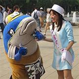 上野公園 えちご長岡・佐渡広域観光フェア。