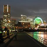 街の明かりがとても綺麗ねヨコハマ ウォーク。