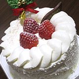 クリスマス ホールケーキ半額祭り☆