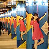 目黒川 花見ウォークと渋谷地下のPerfume広告ジャック。